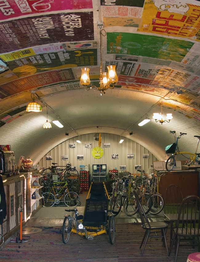 Pop-up-Bikes-Storage